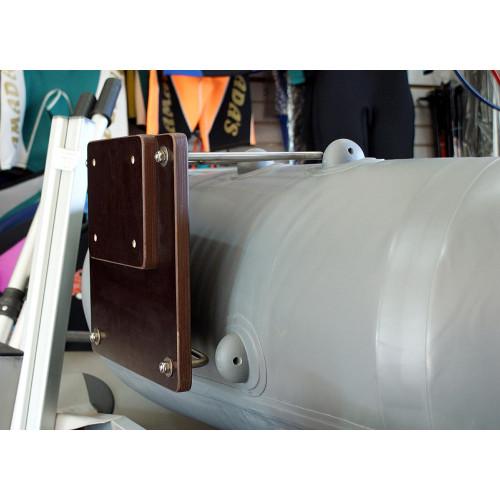 Транец для надувной лодки размеры