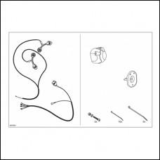Штатная электрика фаркопа Hak-System (7-полюсная) Range Rover Sport 2009-2011/DISCOVERY 2009-